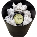 You cannot recycle wasted time